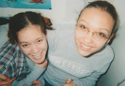 Denise & I - 7th & 8th grades.